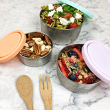 Round Nesting Containers. Great for packing our Cakes for Lunches or Snacks