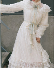 Load image into Gallery viewer, Vintage Edwardian style Lace Princess Dress
