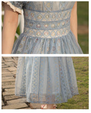 Load image into Gallery viewer, Vintage Style Palace Princess Style Lace Fairy Dress