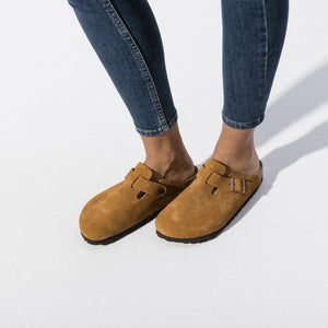 Boston Suede Soft Footbed