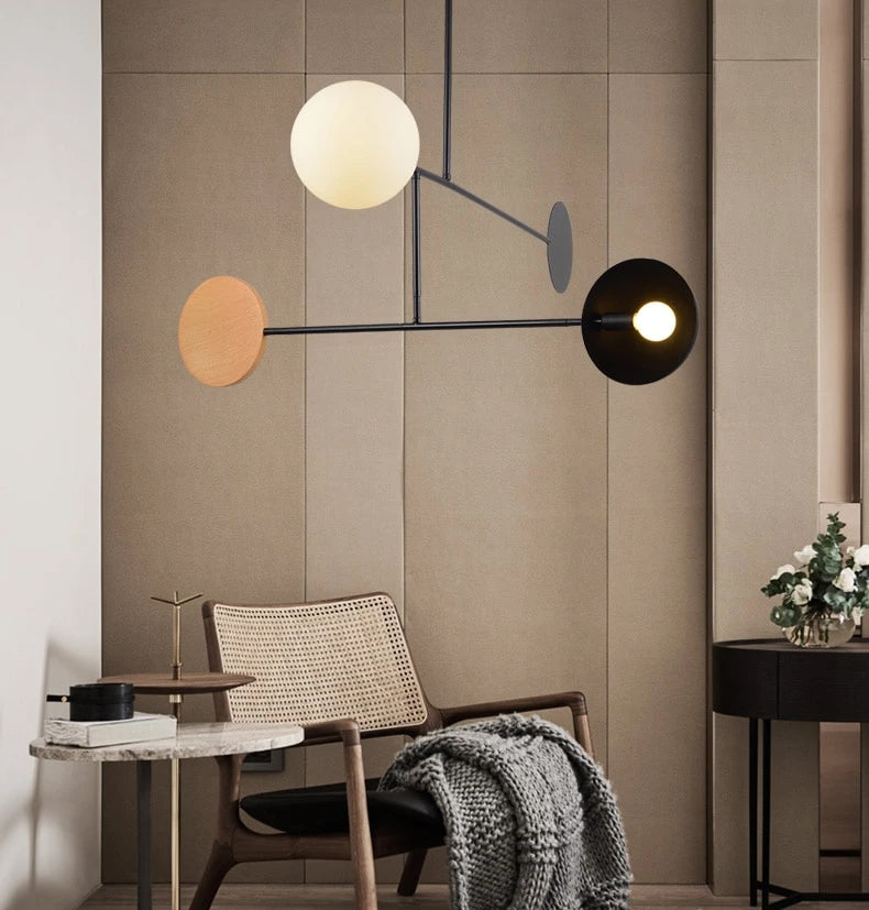 Abstract Chandelier Contemporary Design Hanging Light Fixture For Luxury Loft Apartment Living Room Modern Lighting For Home Office Interior Decor