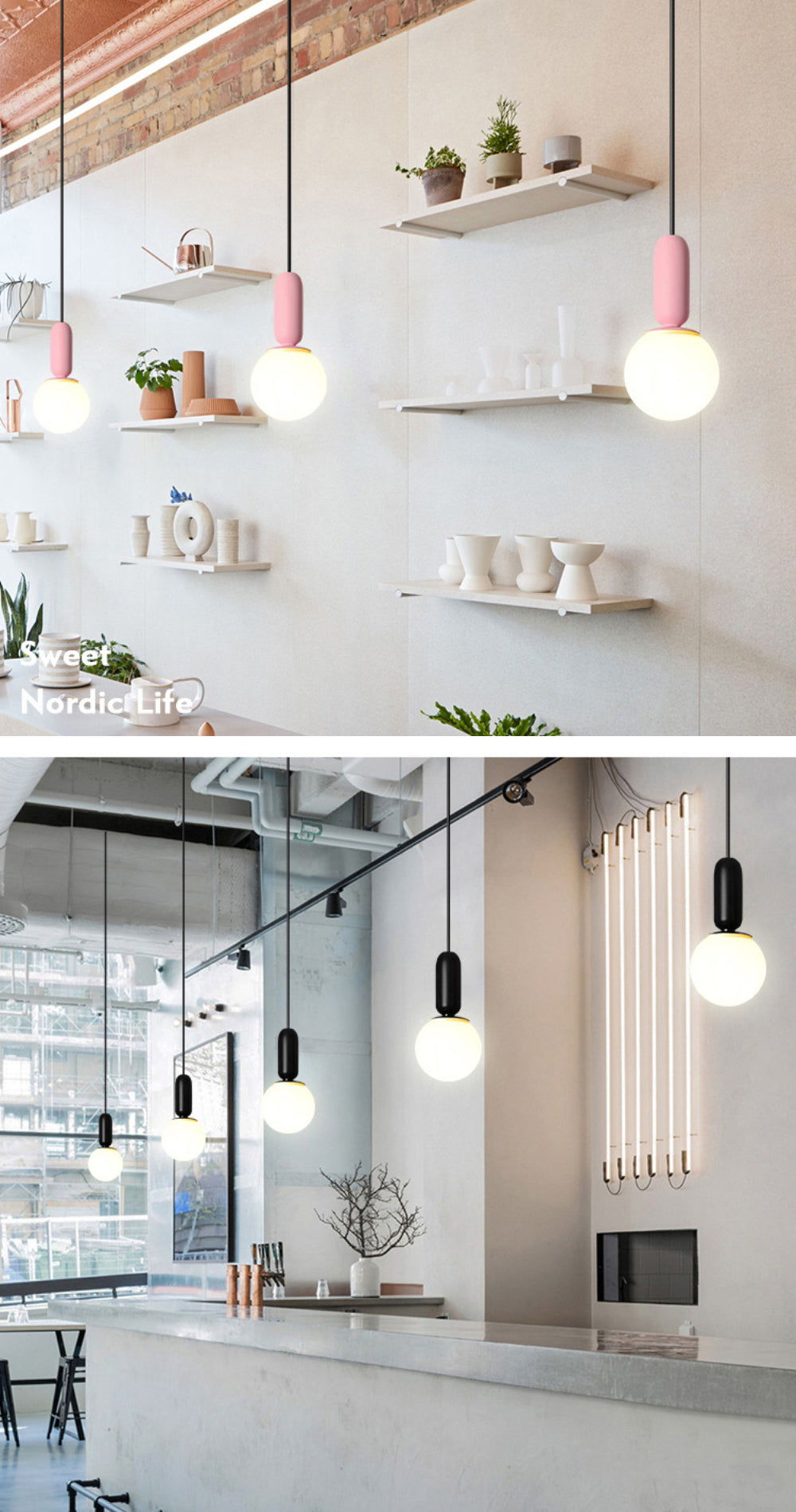 Colorful Nordic Pendant Lamps Simple Modern Style Hanging Lights For Kids Room Living Room Lighting Solution For Contemporary Home Office Interior Decor