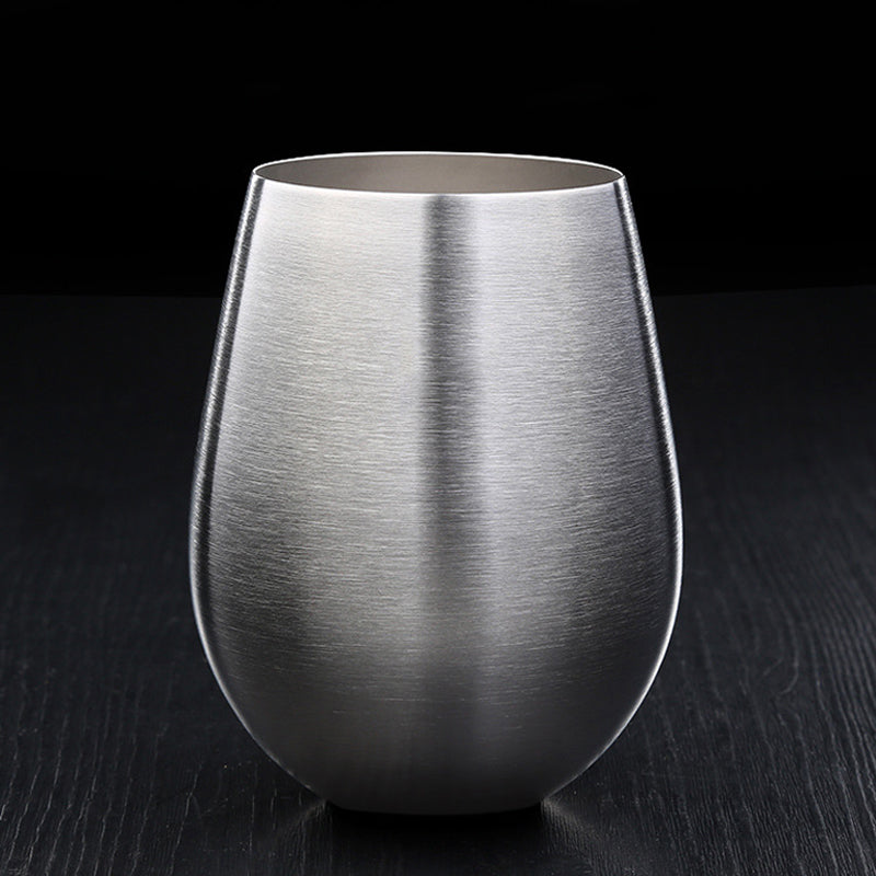 Large Stainless Steel Tumbler For Cold Drinks Beer Cocktails Wine Fruit Juices Iced Drinks etc Ideal For Summer BBQs Parties Outdoor Stainless Steel Drinkware 500ml