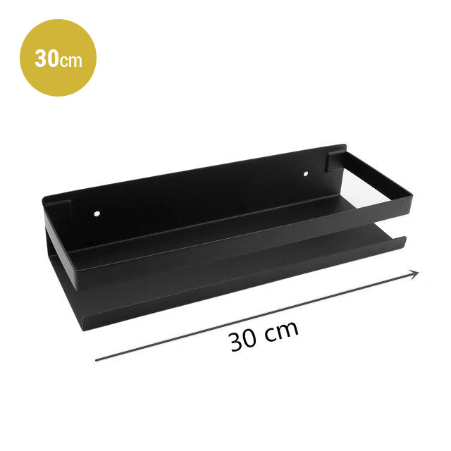 Modern Stainless Steel Bathroom Shelf For Soap Shampoo Cosmetics etc Ideal Use For Use As Washroom Shower Shelf Or Bathroom Storage Rack In Matt Black Or Brushed Silver