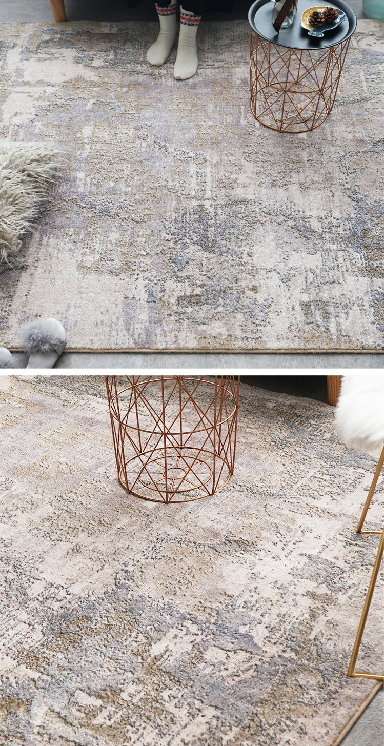 Modern Abstract Nordic Area Rug For Living Room Dining Room Floor Mat Contemporary Geometric Design Light Luxury Carpet Mat For Home Office Designer Interiors