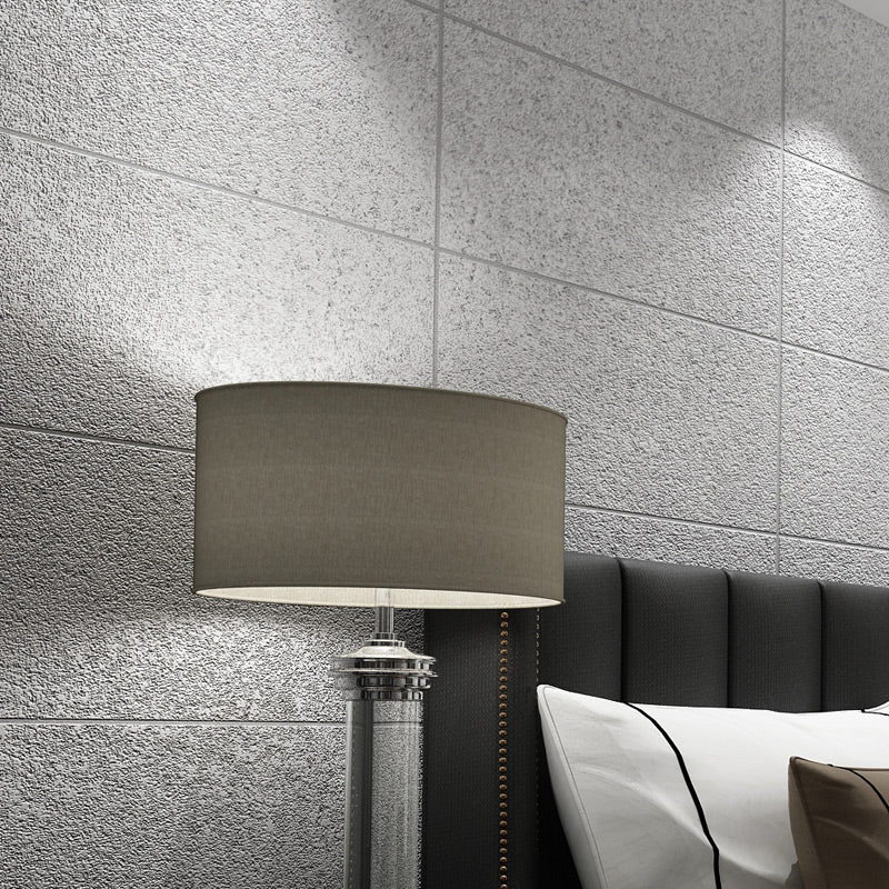 Modern Faux Marble Tiles Wallpaper For Living Room Bedroom Stylish Non-Woven Lattice Tiles Marble Effect Wall Paper For Luxury Home Decor