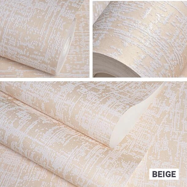 Stylish Textured Embossed Wallpaper Rich Pastel Color Beige Blue White Pink Wall Coverings For Bedroom Living Room Modern Decor Embossed Wall Paper