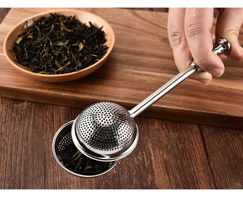 Tea Lovers Fancy Tea Strainer Stainless Steel Mesh Tea Infuser Tea Bag Filter Loose Leaf Tea Bag Strainer Connoisseurs Teaware Accessories