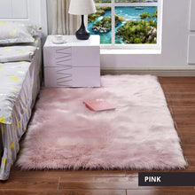 Load image into Gallery viewer, Luxury Plush Faux Fur Rugs For Bedroom Artificial Wool Soft Fluffy White Fur Rug For Living Room Bedroom Couch Area Floor Rugs