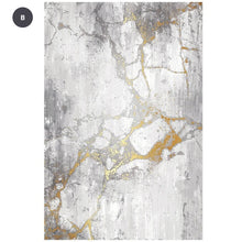 Load image into Gallery viewer, Modern Nordic Minimalist Area Rug Fluffy Pile Abstract Design Contemporary Rug For Bedroom Living Room Light Luxury Rug For Home Or Office Decor