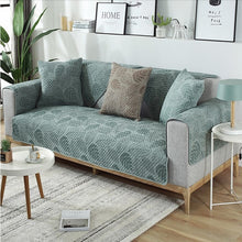 Load image into Gallery viewer, Nordic Living Room Sofa Cover Stylish Modern Furniture Covering Soft Quilted Jacquard For Armrests Cushion Cotton Couch Cover For Sofa in 2 Colors
