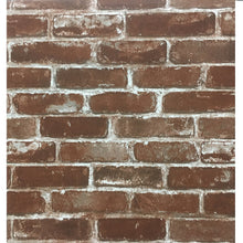 Load image into Gallery viewer, Realistic Faux Bricks Wallpaper Industrial Style Exposed Brickwork PVC Printed Wallpaper For Loft Home Shop Office Wall Decor