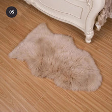 Load image into Gallery viewer, Shaggy Sheepskin Fluffy Rug Faux Fur Carpet Mat For Living Room Bedroom Bath Rug Washable Realistic Decorative Faux Fur Rug