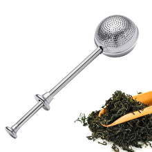 Load image into Gallery viewer, Tea Lovers Fancy Tea Strainer Stainless Steel Mesh Tea Infuser Tea Bag Filter Loose Leaf Tea Bag Strainer Connoisseurs Teaware