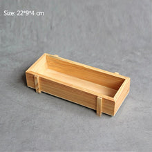 Load image into Gallery viewer, Antique Wooden Cargo Crate Storage Box Tabletop Sundries Container Cosmetics Organizer Jewelry Storage Box Plant Pot Tray