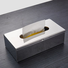 Load image into Gallery viewer, Gold Toilet Paper Holder Box Wall Mounted Gold Black Silver Napkin Dispenser Stainless Steel Tissue Box For Bathroom Or Kitchen