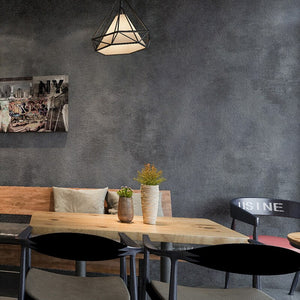 Plain Gray Concrete Vinyl Wallpaper Retro Urban Modern Wall Covering For Shop Cafe Home Loft Office Wallpaper Contemporary Wall Decor