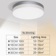 Load image into Gallery viewer, Round White LED Ceiling Light Minimalist UFO Style Energy Saving Modern Bright Home Interior Lighting Solution For Living Room Dining Room Study Room Lights