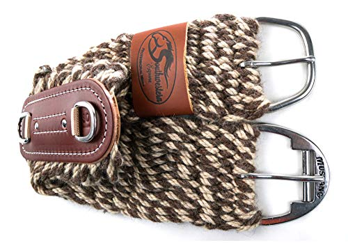 Southwestern Equine Flip Cinch - Roper - 100% Alpaca and Mohair Twist Roper Cinch 27 Strand New Reversible Design