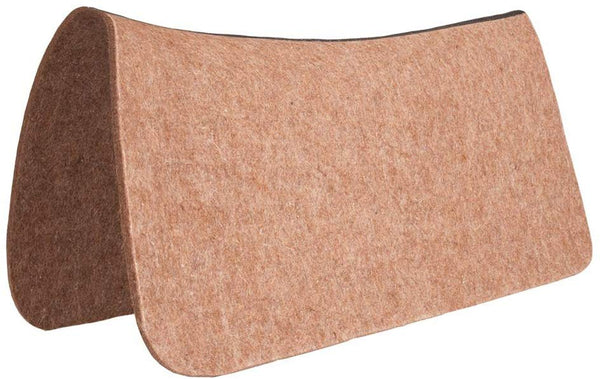Saddle Blanket Protector All Wool Contoured