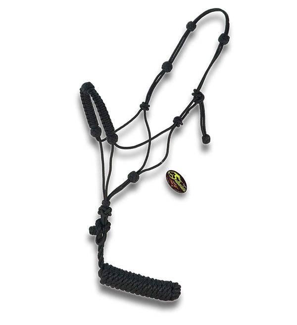 Southwestern Equine Braided Nose Training Halter w/ 10 ft Lead
