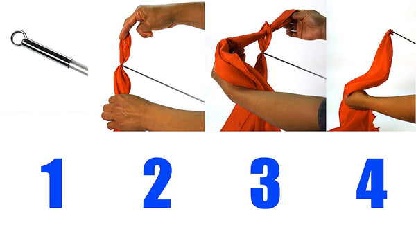 Horse Training Flag Lunge Whip - 3 Replacement Flags - More Effective Than a Horse Whip for Training