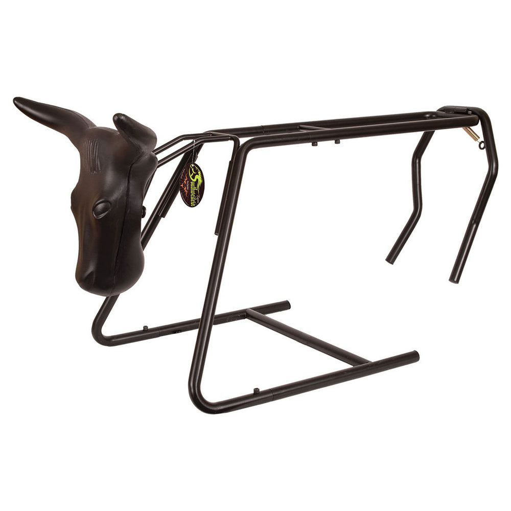 Equine Roping Heading and Heeling Dummy Stand - New Version of Roping Dummy