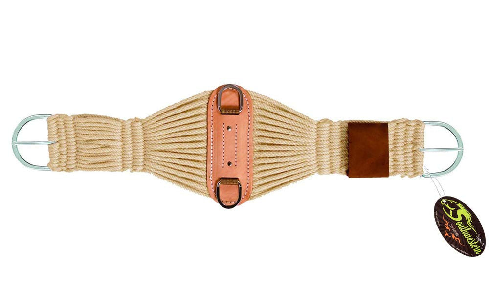 Traditional Mohair Roper Cinch