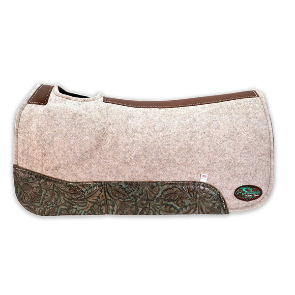 OrthoRide™ Elite - Premium All Wool Topper and Bottom - Saddle Pad