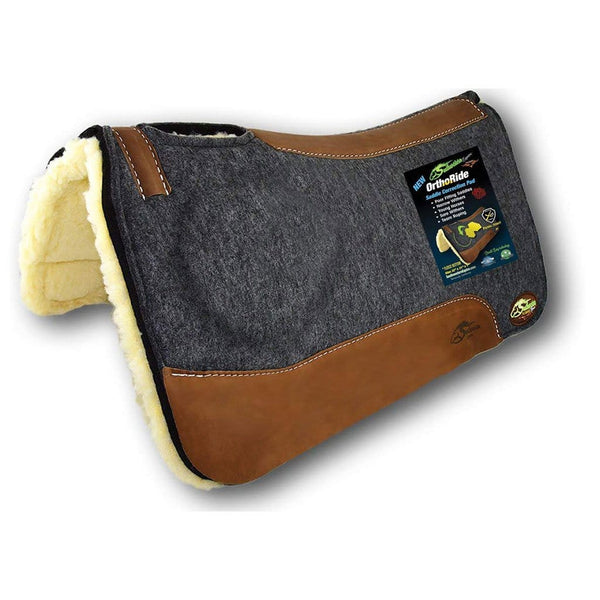 Southwestern Equine Orthoride Western Saddle with Fleece Bottom