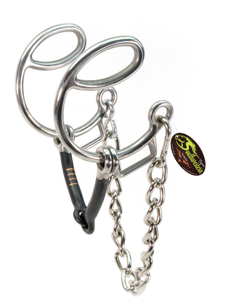 Sweet SIX BIT Western Snaffle Curb Chain
