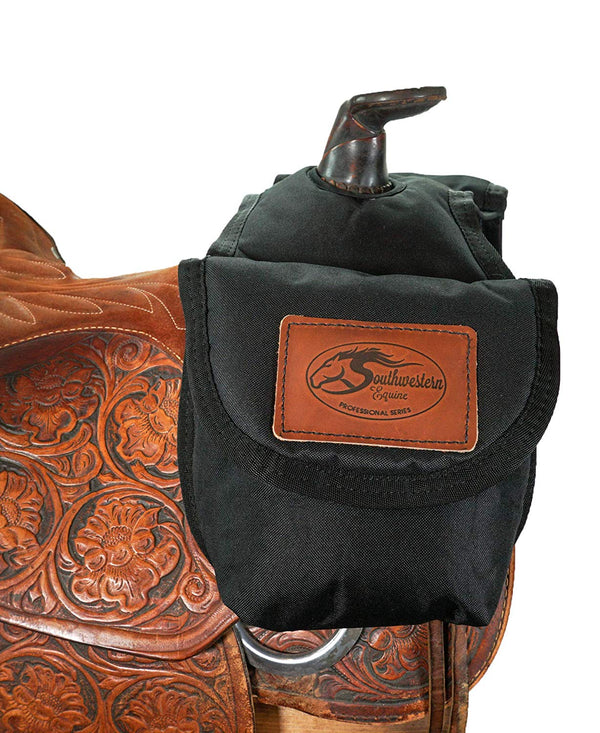 Trail Horse Riding Gear Durable: Saddle Bag, Horn Bag