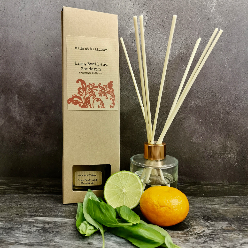 LIME, BASIL AND MANDARIN DIFFUSER
