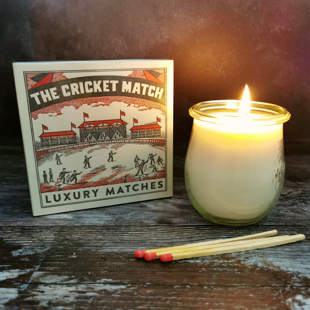 SQUARE MATCH BOX - THE CRICKET MATCH