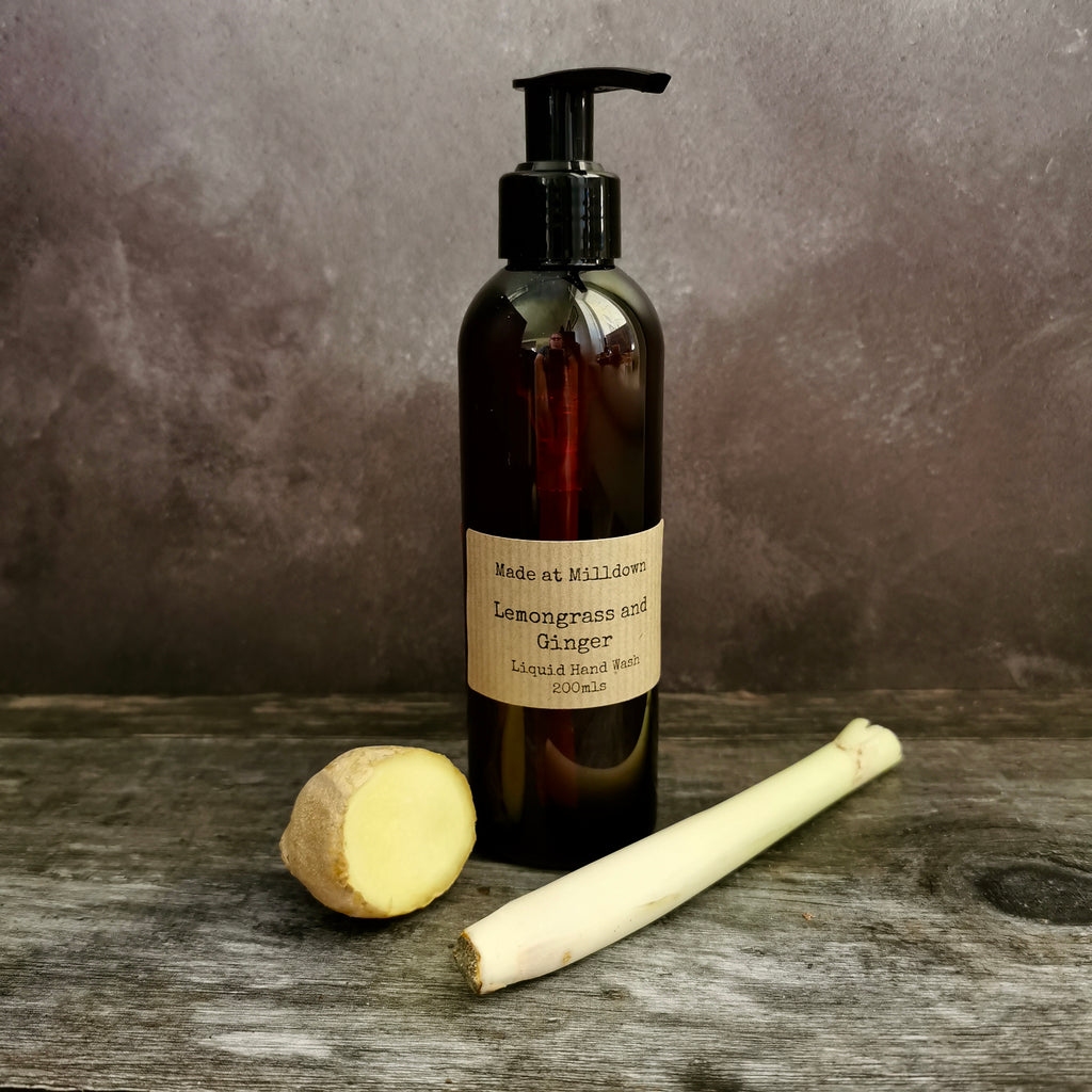 LEMONGRASS AND GINGER HAND WASH
