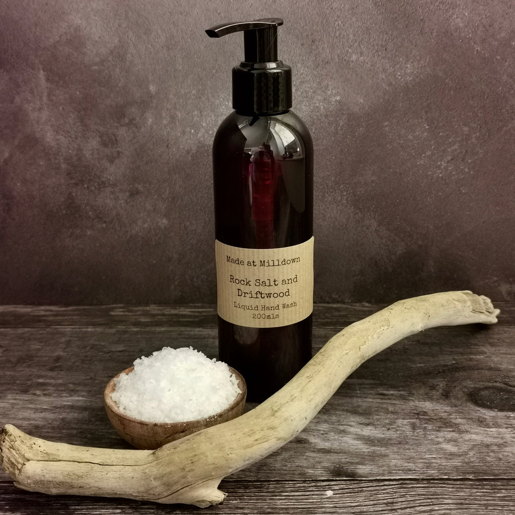 ROCK SALT AND DRIFTWOOD HAND WASH