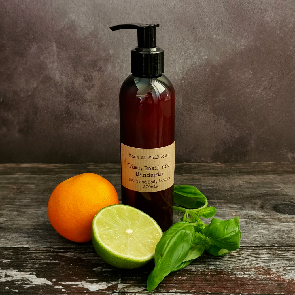 LIME, BASIL AND MANDARIN HAND & BODY LOTION