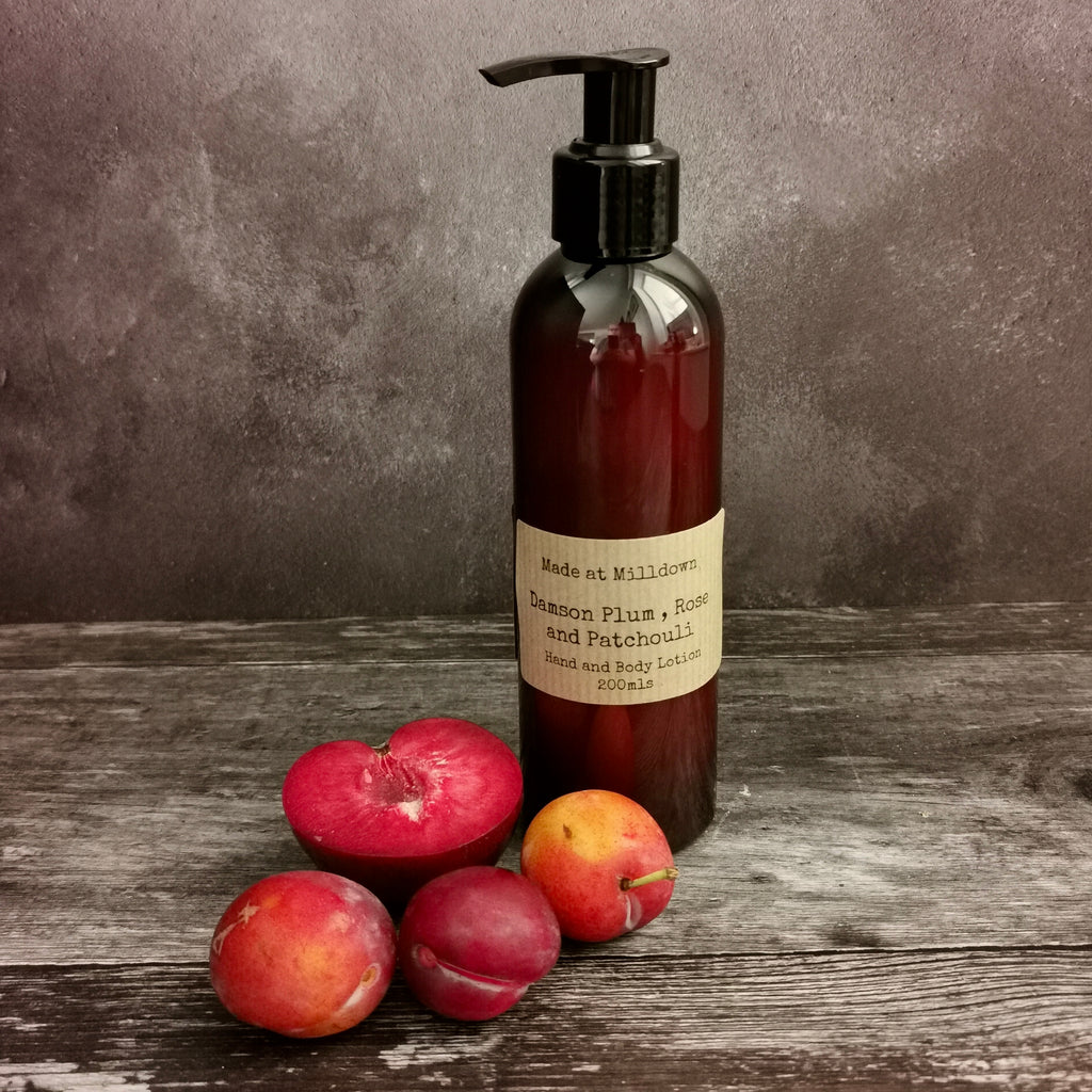 DAMSON PLUM, ROSE AND PATCHOULI HAND WASH