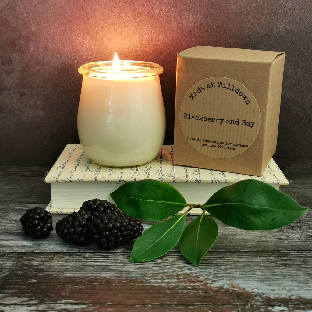 BLACKBERRY AND BAY CANDLE