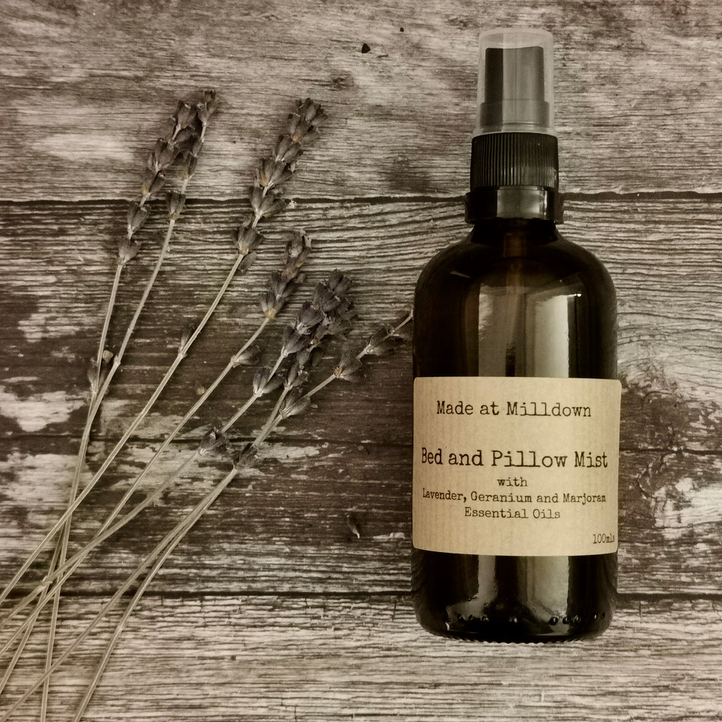 LAVENDER, GERANIUM AND MARJORAM PILLOW MIST