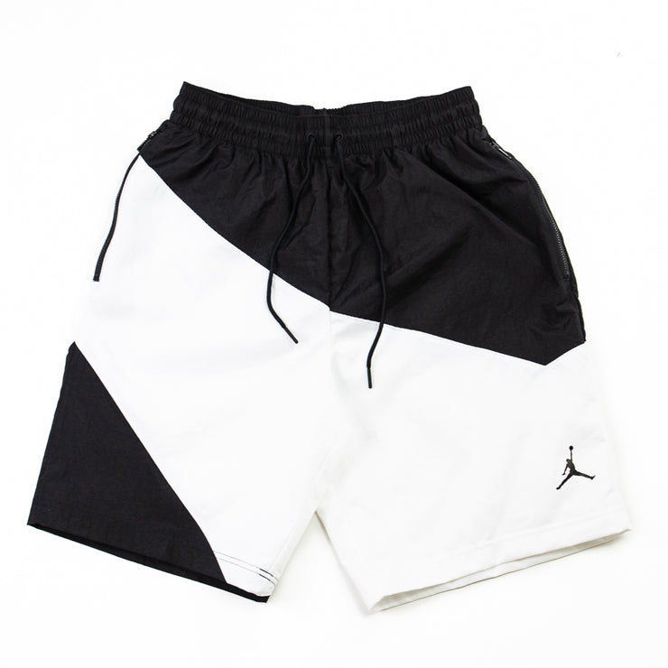 Jumpman Nylon Shorts (Black/White)