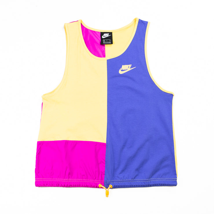 WMNS NSW Icon Clash Tank (Topaz Gold/Fire Pink/Sapphire)