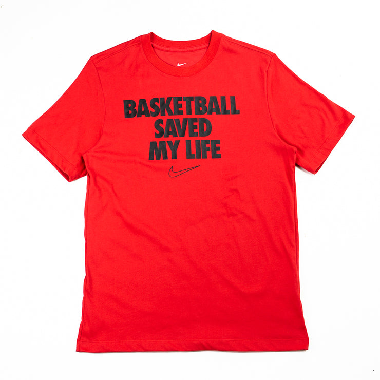 "NIKE Dri-Fit ""My Life"" Tee (University Red)"