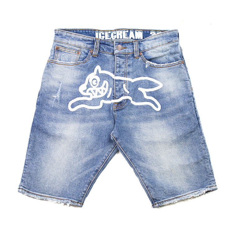 Runner Short (Light Blue Denim)