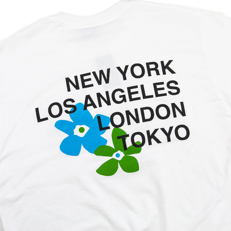 City Flowers Tee (White)