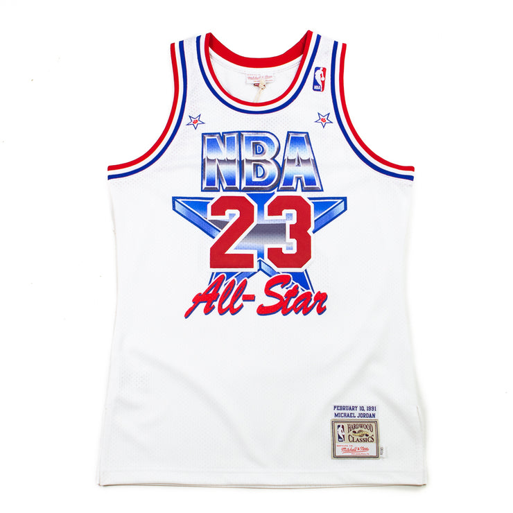 1991 All Star Jordan Jersey (White)