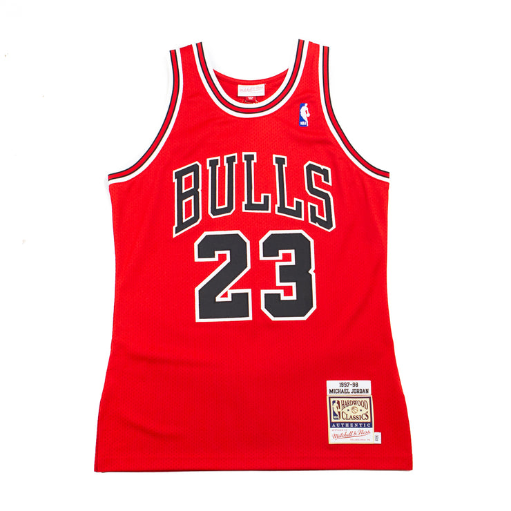 97-98 Michael Jordan Bulls Authentic Jersey (Away)
