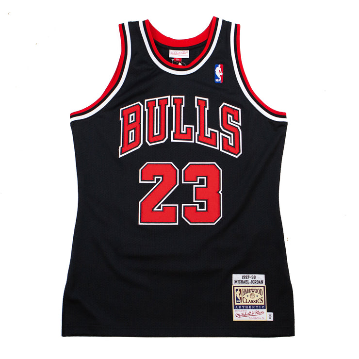 97-98 Michael Jordan Bulls Authentic Jersey (Alternate)