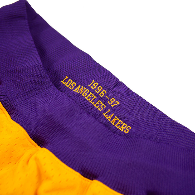 96-97 Los Angeles Lakers Shorts (Home)