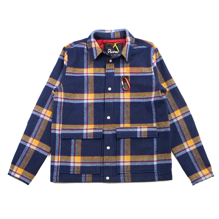 Billton Check Jacket (Navy)